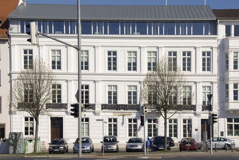 The headquarter of F. A. Vinnen since 1912 in the city center of Bremen.