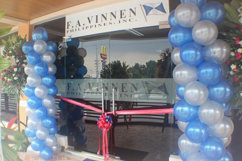 Opening of the office of F. A. Vinnen Philippines in Manila in 2011.
